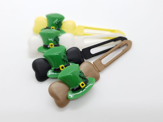 St Patricks Hat (Choose your own colour and Clip Size)