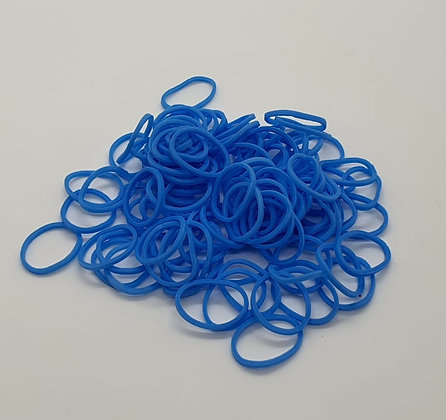Light Blue Colour Top Knot Elastics