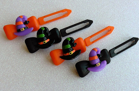 Witches Hat by Posh Puppy Top Knot barrettes