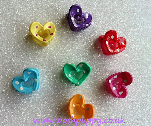 Heart Claw Clips