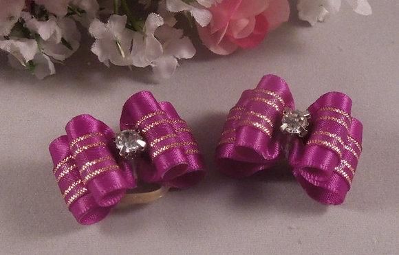 Midnight Diamonds Top Knot Elastic