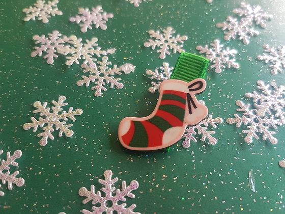 Christmas Novelty Alligator clip