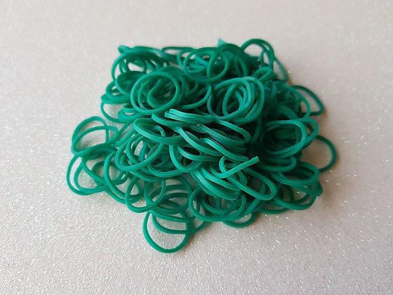 Dark Green Colour Top Knot Elastic