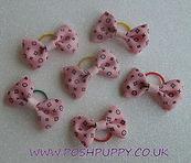 Dog Hair Accessories, hair clips, bands, bows, elastics