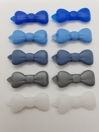 Posh Puppy Clips Packs Ice Pack 10 x Bow dog top knot barrette