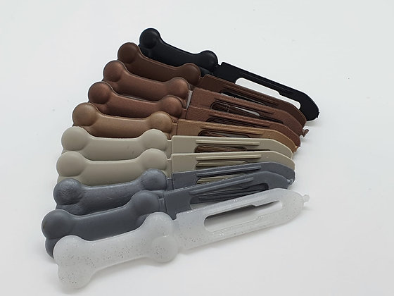 10 x Assorted Limited Edition Boy 3.5 Bone Clip Pack