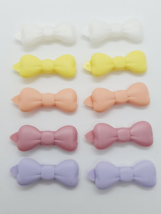 Posh Puppy Clips Packs Pastle Pack 10 x  Bow dog top knot barrette