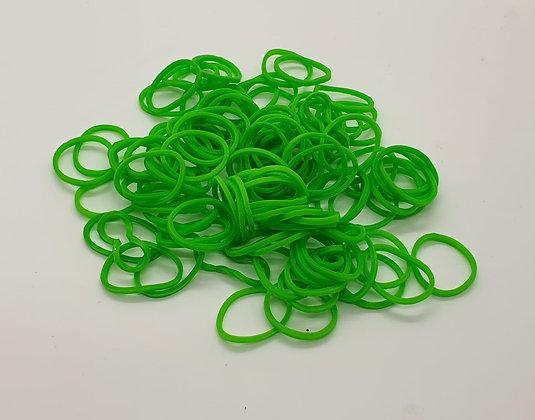 Apple Green Colour Top Knot Elastics