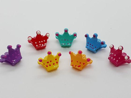 Crown Claw Clips