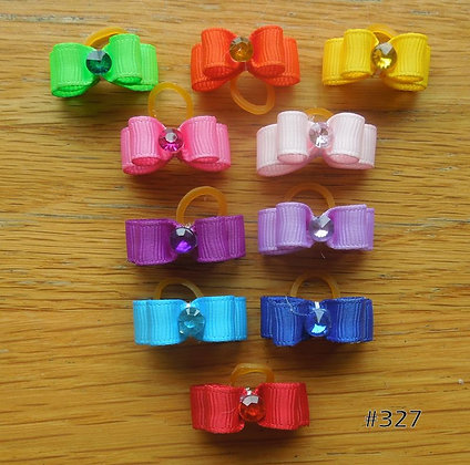 Simple Colours of the Rainbow Top Knot Elastic