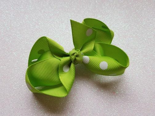 Large Bow Alligator clip