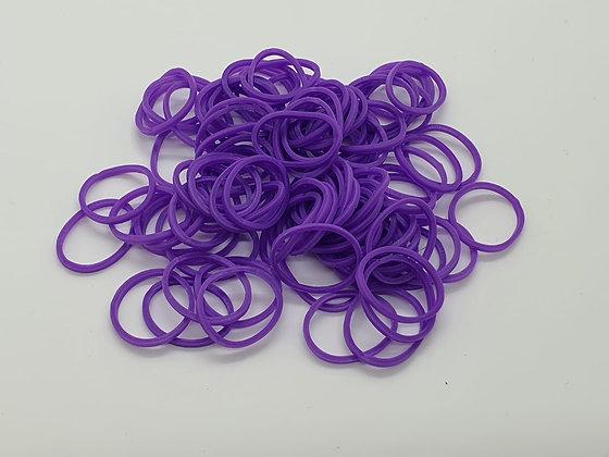 Purple Colour Top Knot Elastic