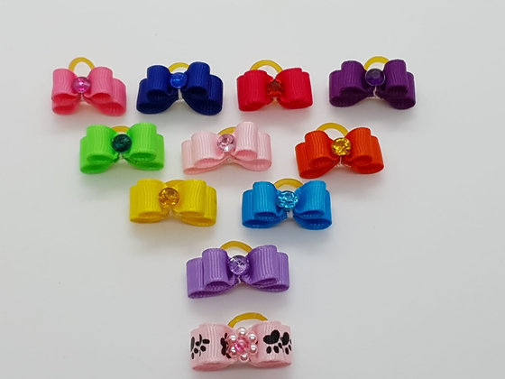 Simple Colours of the Rainbow Soft Top Knot Elastic