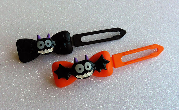 Big Bats by Posh Puppy Top Knot barrettes