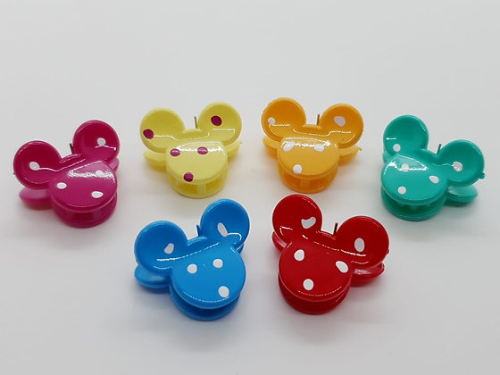 Minnie Mouse Claw Clips