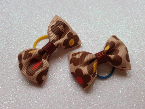 Soft Top Knot Elastic Bow