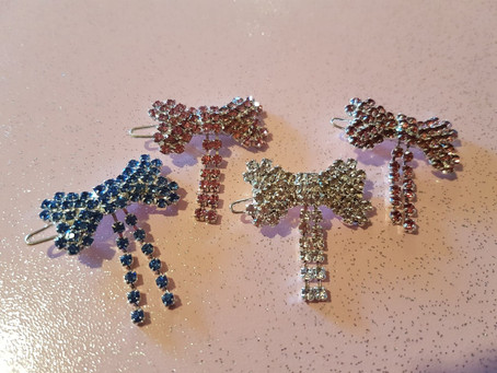 Posh Puppy's New diamante Clip Range