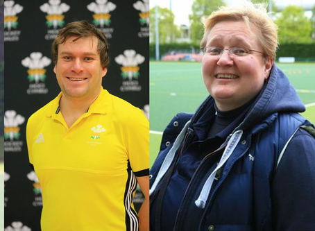 WELSH SUCCESS AT FIH UMPIRES AND OFFICIALS PANELS