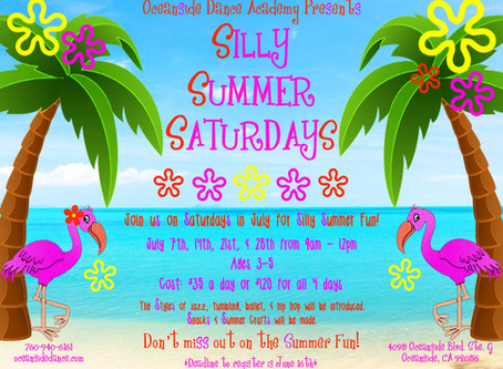 O.D.A. Silly Summer Saturdays