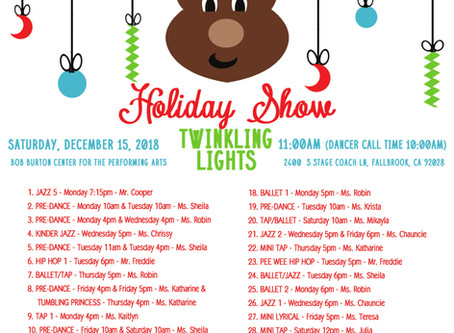 2018 Holiday Show!