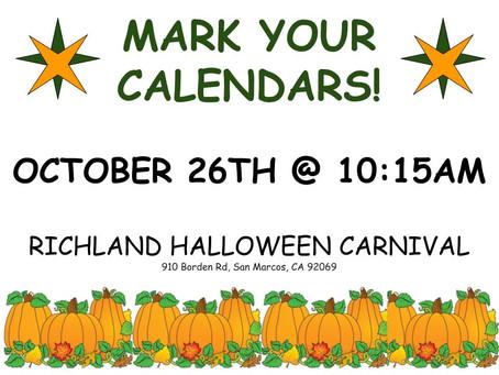 Richland Halloween Carnival