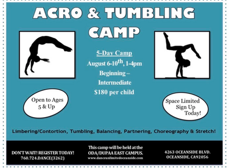 Acro and Tumbling Camp