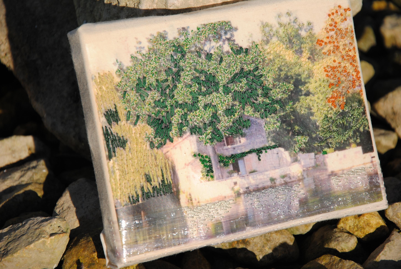 Broderie Peinture à l'Aiguille