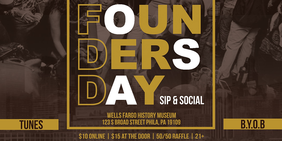 Founders Day Sip & Social