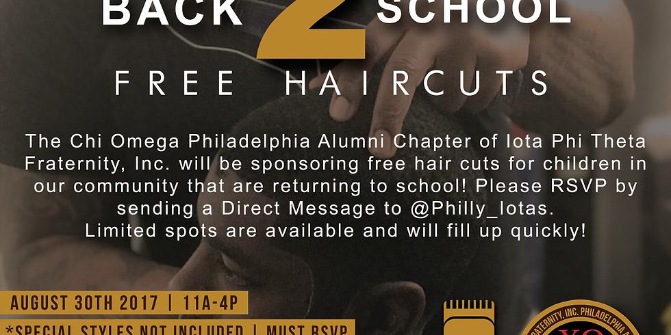Back2School Free Haircuts