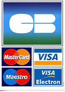carte de crédit visa mastercard maestro visa electron chèque pizza burger evreux Pont l'évêque