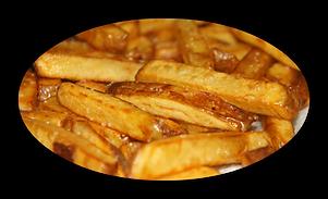 Les frites maison pizza burger Evreux Pont l'évêque