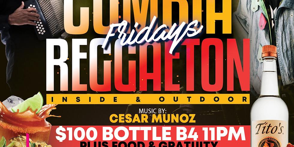 Cumbia Vs. Reggaeton Fridays