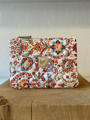 Pochette Ipad mini - Blanc cachemire