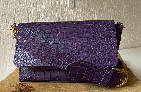 Jacob - Croco violet