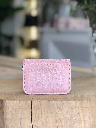 Porte-cartes - Caviar rose pâle