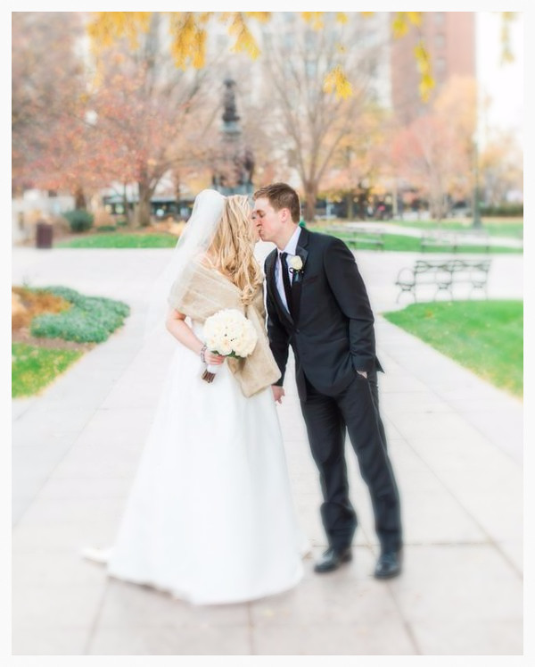 See #thehellerwedding featured on TheKnot.com