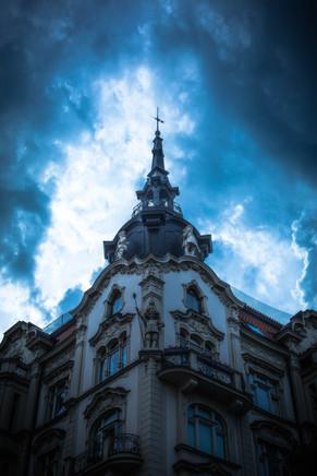 Storms Over Prague
