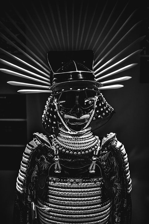 Samurai 2 Black/White
