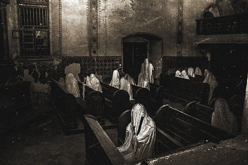 Church of The Nine Ghost (bw)