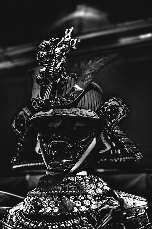 Samurai 1 Black/White