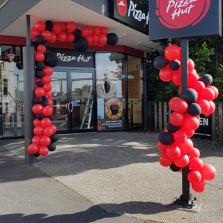 Pizza Hut Bank Street Opening