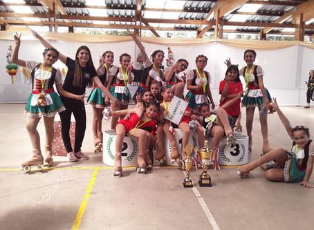 Segundo Lugar - Campeonato Nacional de Patinaje Artístico.