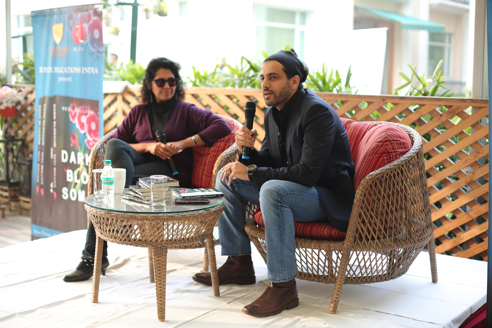 Neel Mullick in Discussion with Meenaksh