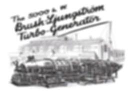1920 5MW Turbine Generator set