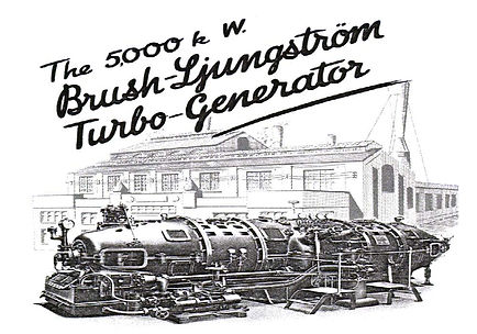 1920 5MW Turbine Generator set