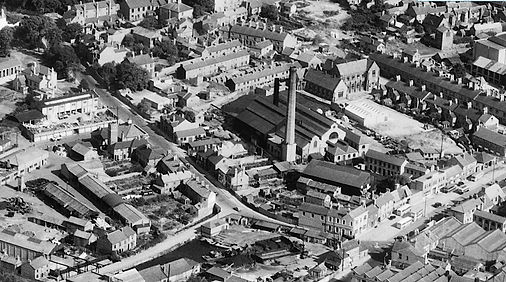 Loughborough Power Station - 1947