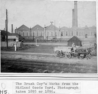 1896 Photo of Brush Falcon works in Loughborough