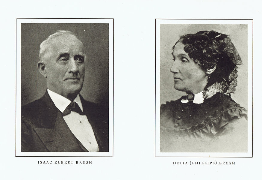 Parents of Charles F. Brush