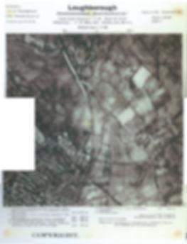 Luftwaffe map of Loughborough