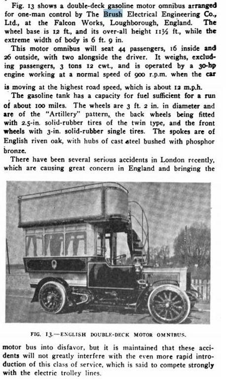 1906 London bus